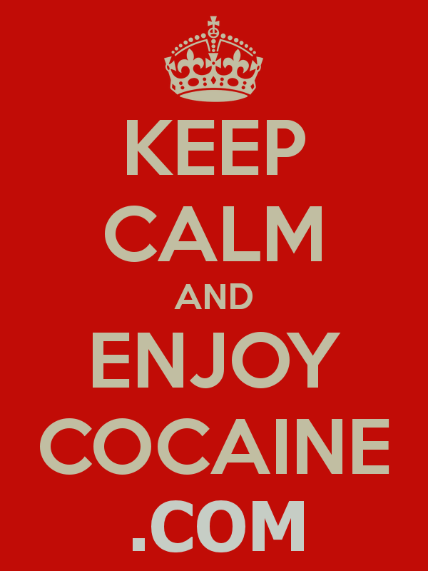 cocaine, enjoy cocaine, enjoy cocaine graphic
